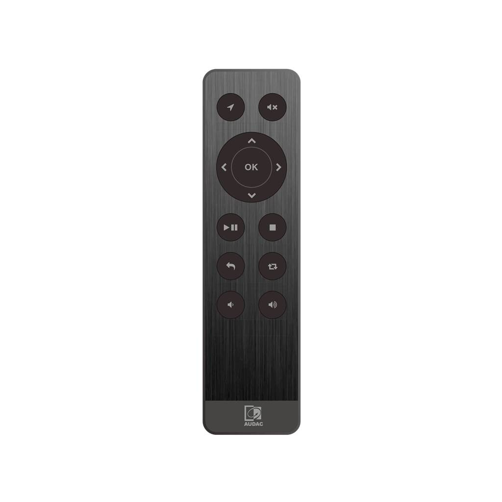 AUDAC RMT40 Audio player RF remote control