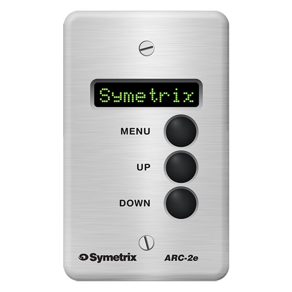 Symetrix ARC-2e AP Čelní panel