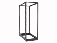 "CAYMON DPR932/B 4-post 19"" open-frame rack - 32 units - 550~1015 mm depth Black version"