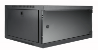 "CAYMON EPR406/B 19"" wall rack - 6 units - 450 mm depth Black version"