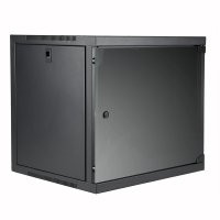 "CAYMON EPR412/B 19"" wall rack - 12 units - 450 mm depth Black version"
