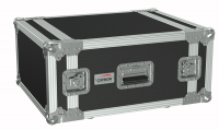 "CAYMON FC106/B 19"" flightcase - 6HE - 507mm depth Black version"