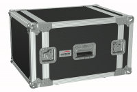"CAYMON FC108/B 19"" flightcase - 8HE - 507mm depth Black version"