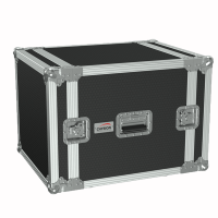 "CAYMON FC110/B 19"" flightcase - 10HE - 507mm  depth Black version"