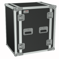 "CAYMON FC116/B 19"" flightcase - 16HE - 507mm depth Black version"