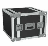 "CAYMON FCX108/B 19"" flightcase - 8HE - 360mm depth Black version"