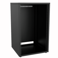 "CAYMON PR218/B 19"" rack cabinet - 18 units - 500mm depth Black"