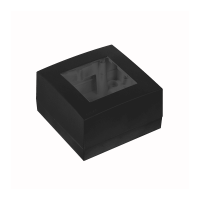 AUDAC WB45S/B Surface mount box single 45 x 45 mm, černý