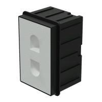 AUDAC WMM20 In-wall box for MERO2 for concrete/brick wall
